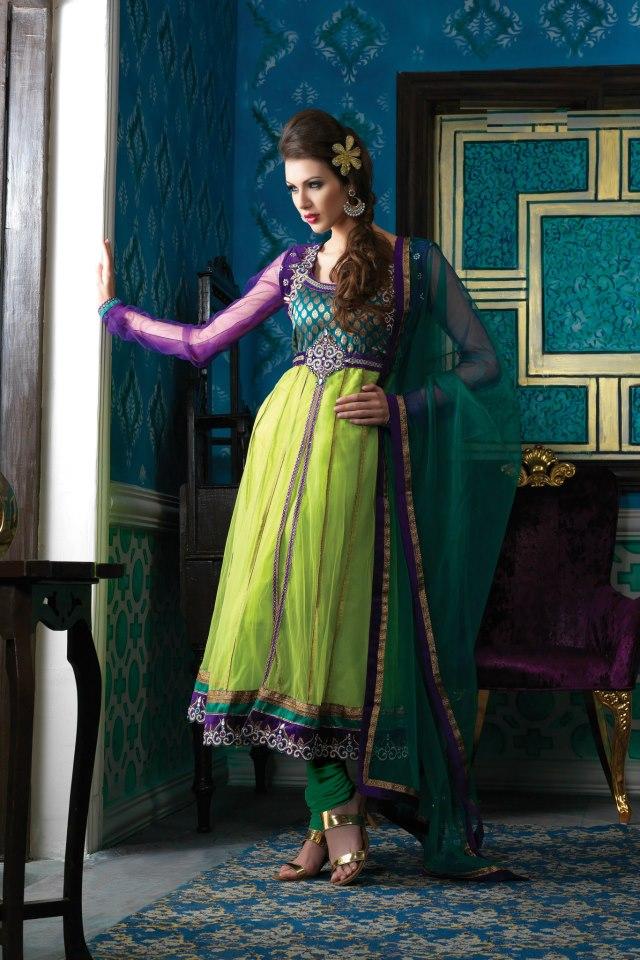 Petals Collection Anarkali Suits 4