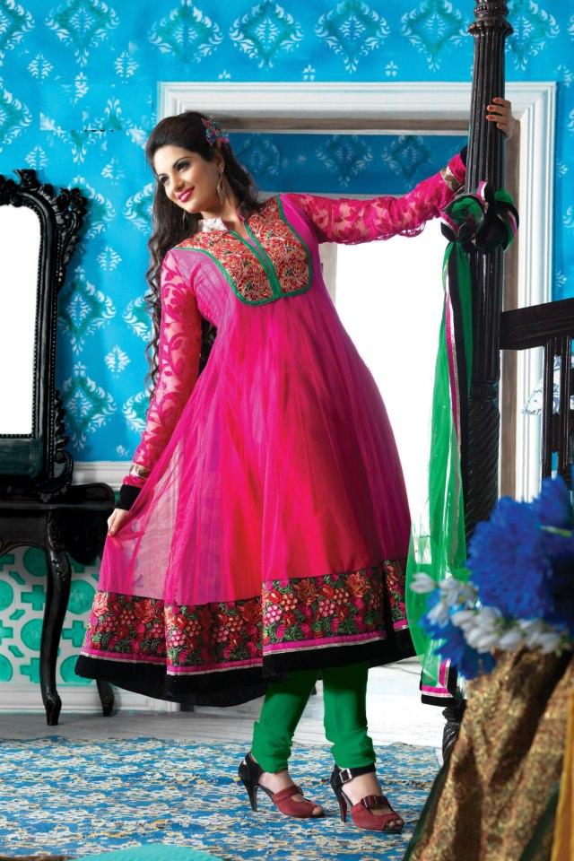 Petals Collection Anarkali Suits 5