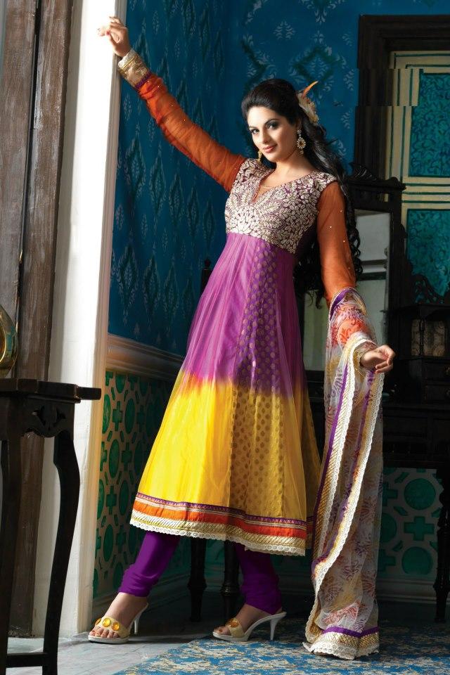 Petals Collection Anarkali Suits 6