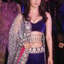 Priyanka Chopra In Blue Lehenga Choli