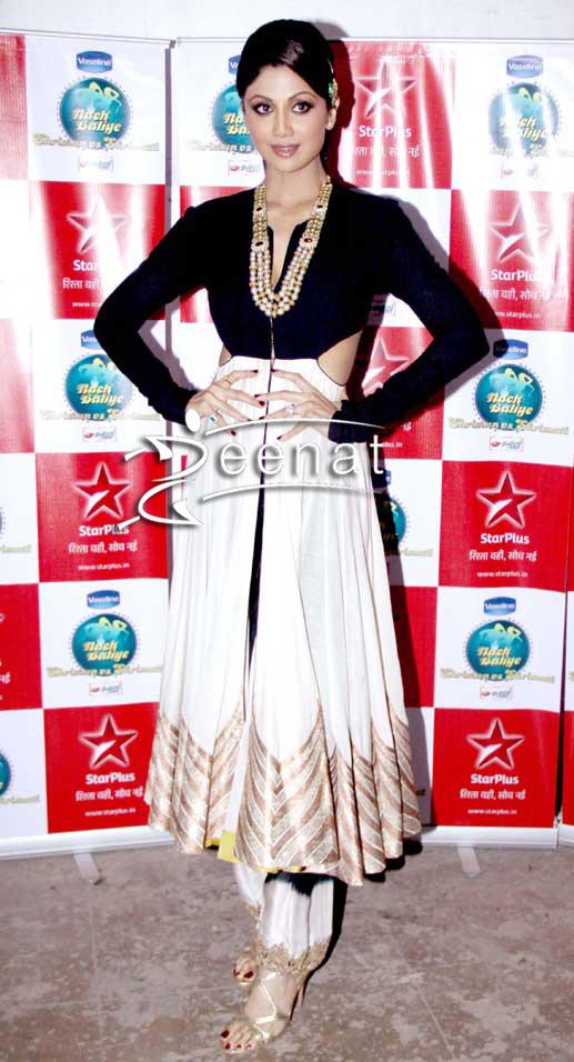 Shilpa Shetty In Designer Anand Kabra Anarkali