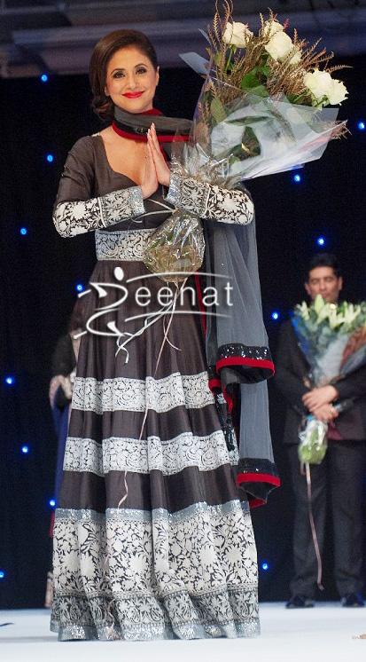 Urmila Matondkar In Designer Manish Malhotra Dress