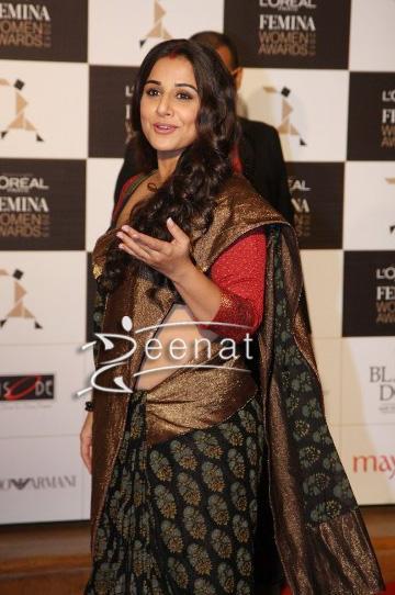 Vidya Balan In Designer Sabyasachi Banarsi Saree