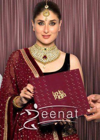 Kareena Kapoor In Designer Lehenga Choli