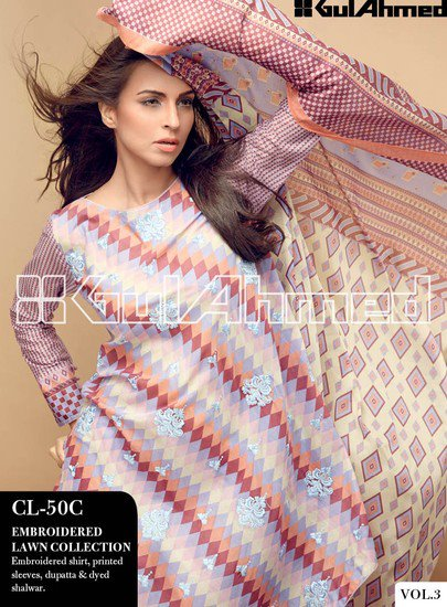 Gul Ahmed Spring Summer Lawn Collection Vol-3
