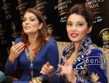 Minissha Lamba at Belnders Prides Fashion Tour Lehenga Choli