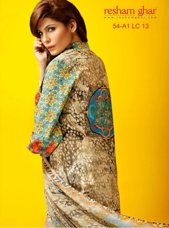 Resham Ghar Spring Summer Collection 2013