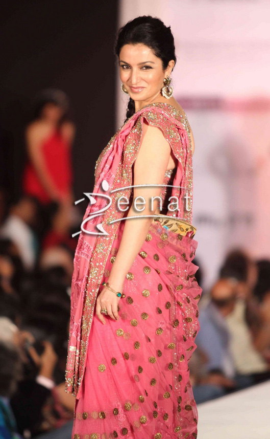 Tisca Chopra In Designer Riyaz Gangji Lehenga Choli