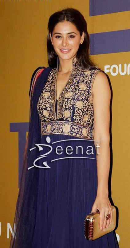Nargis Fakhri In Designer Manish Malhotra Anarkali