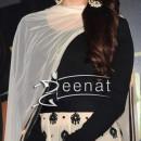 Prachi Desai In Black & White Anarkali Churidar