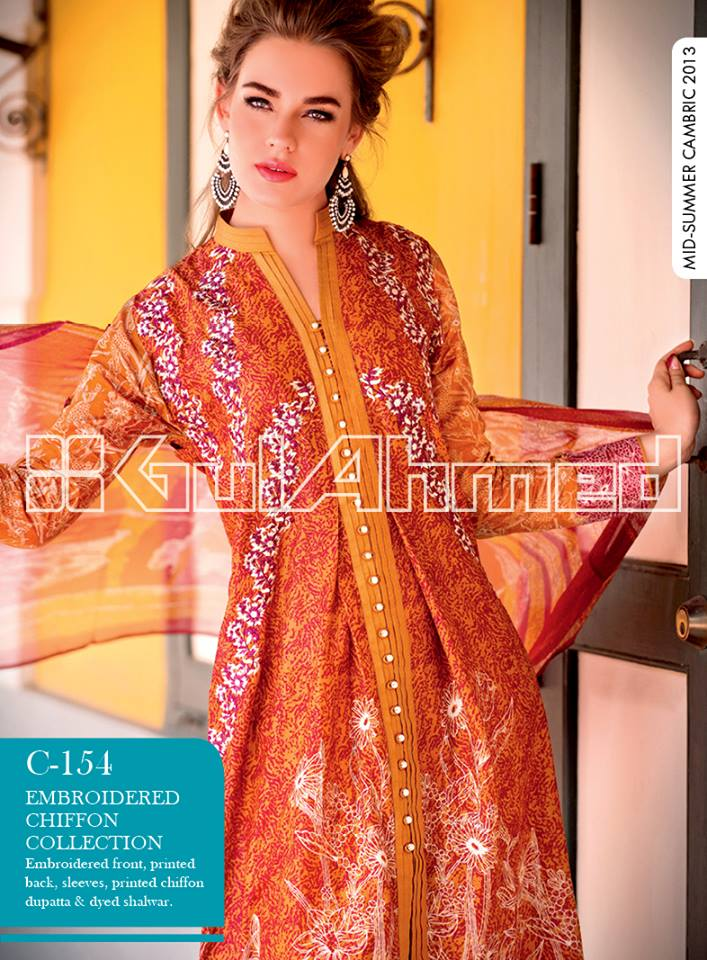Gul-Ahmed Mid Summer Collection 2013