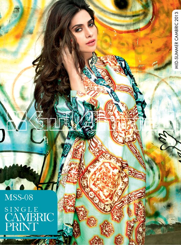Gul Ahmed Mid-Summer Collection 2013