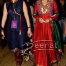 Juhi Chawla in bollywood lehenga with long shirt