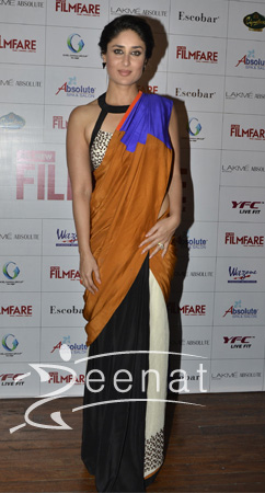 Kareena Kapoor Film Fare Saree