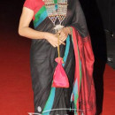 Konkona Sen Sharma In Colorful Saree