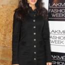 Nargis Fakhri at the Lakme Fashion Week Winter Festive 2013