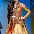 Nargis in designer lehenga choli