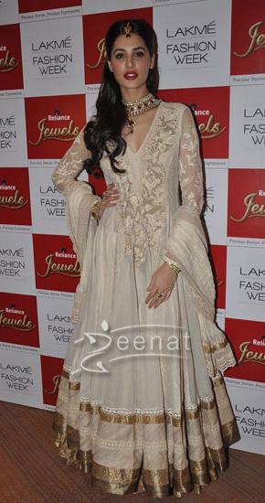 Designer Anarkali Frock On Nargis Fakhri