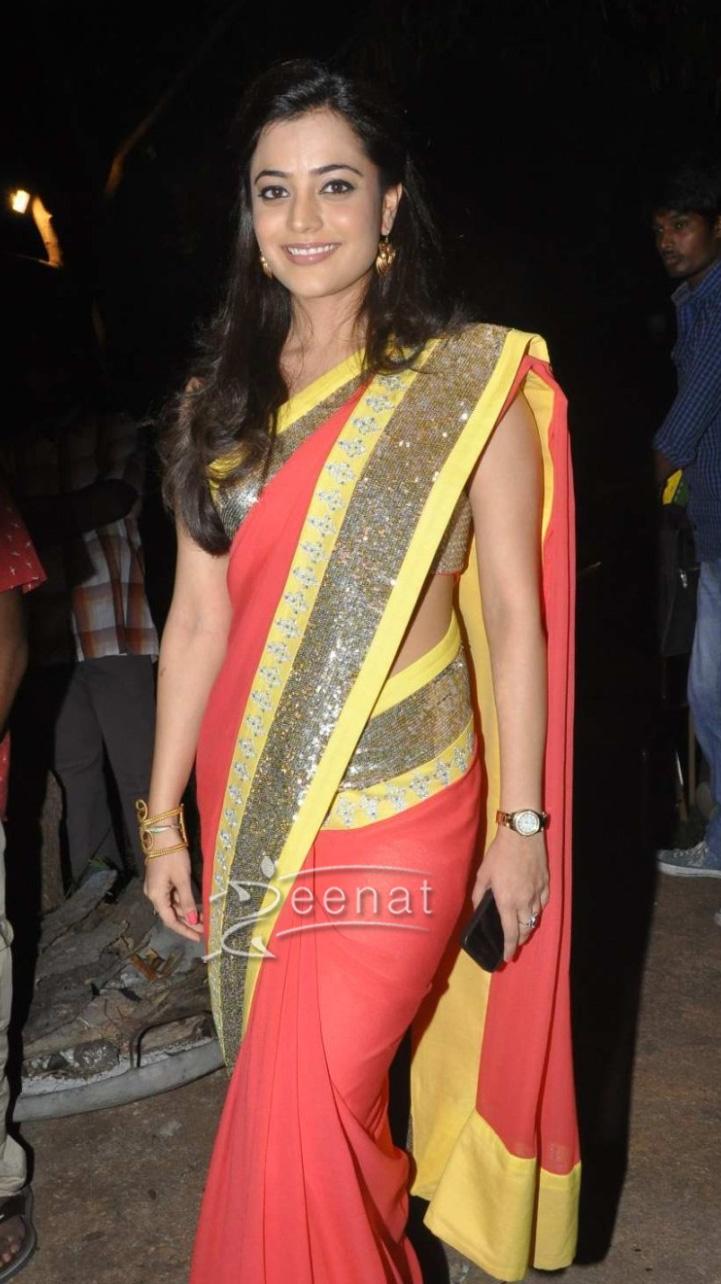 Nisha Agarwal In Sparkling Bright Saree