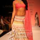 Shriya Saran in designer lehenga choli style