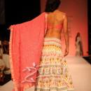 Shriya Saran in designer lehenga choli style At Lakme Fashion Week 2013