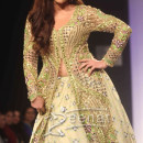 Soha Ali Khan in designer lehenga choli with long shirt