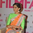 Sonam Kapoor In Designer Saree l