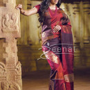 Trisha in bollywood banarsi Saree