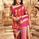 Trisha in Silk Saree.