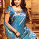 Trisha in traditioal banarsi saree