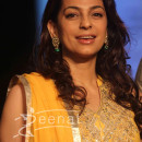 Juhi Chawla in Bollywood Anarkali Churidar