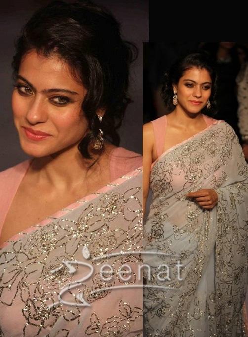 kajol in Shehla Show at Lakme Fashion Week Winter Festive 2013