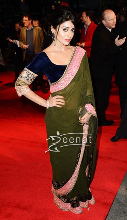 Shriya Saran In Designer Saree