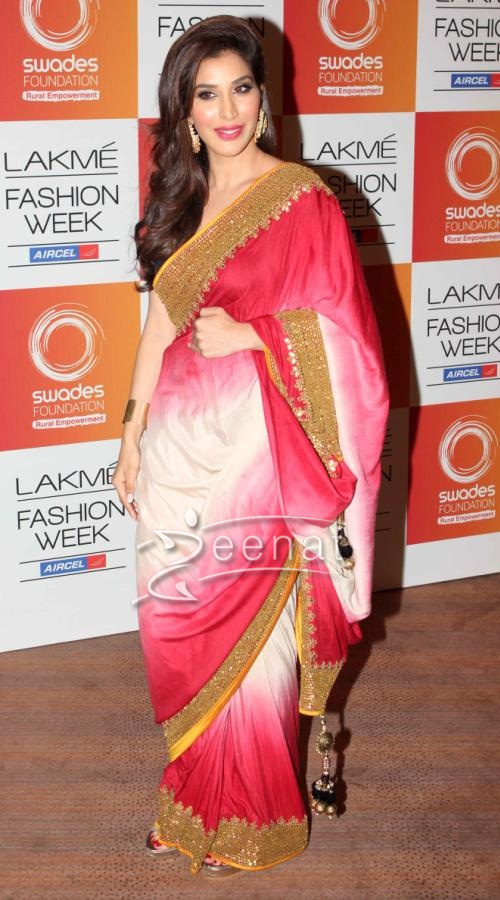 sophie chaudhary Celebrities at lakme fashion week 2013