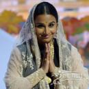 Vidya-Balan In Bollywood Anarkali Frock