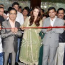 Aishwariya Rai in Anarkali Churidar at Kalyan Jewellers opening