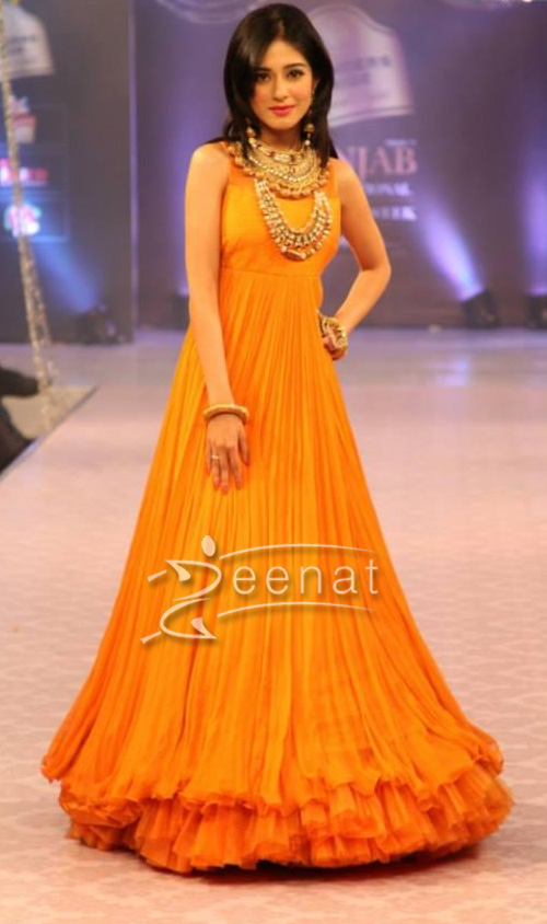 Amrita Rao Walk The Ramp For Rose Creations At Aveda Hotel Ludhiana