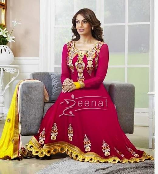 Bipasha Basu In Designer Anarkali Churidar 1A