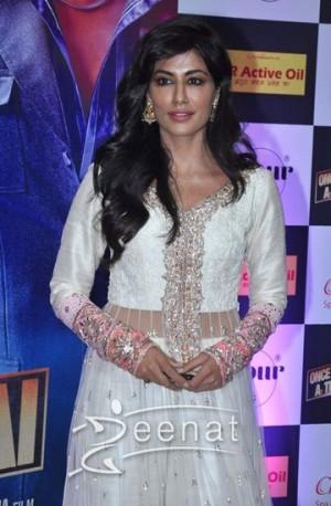 Chitrangada Singh in Manish Malhotra Anarkali Frock At Ikta Aftar Party
