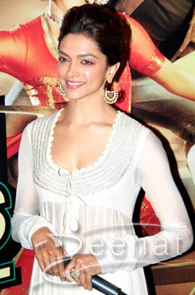 Deepika Padukone In Bollywood Clothing