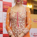 Deepika Padukone In Orange Designer Anarkali Frock