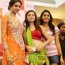 Deepika Padukone In Orange Anarkali ChuridarDeepika Padukone In Orange Anarkali Churidar