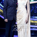 Deepika on the sets of Indian Idol Junior