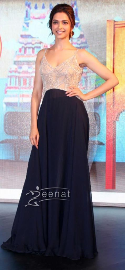Deepika Padukone In Designer Frock