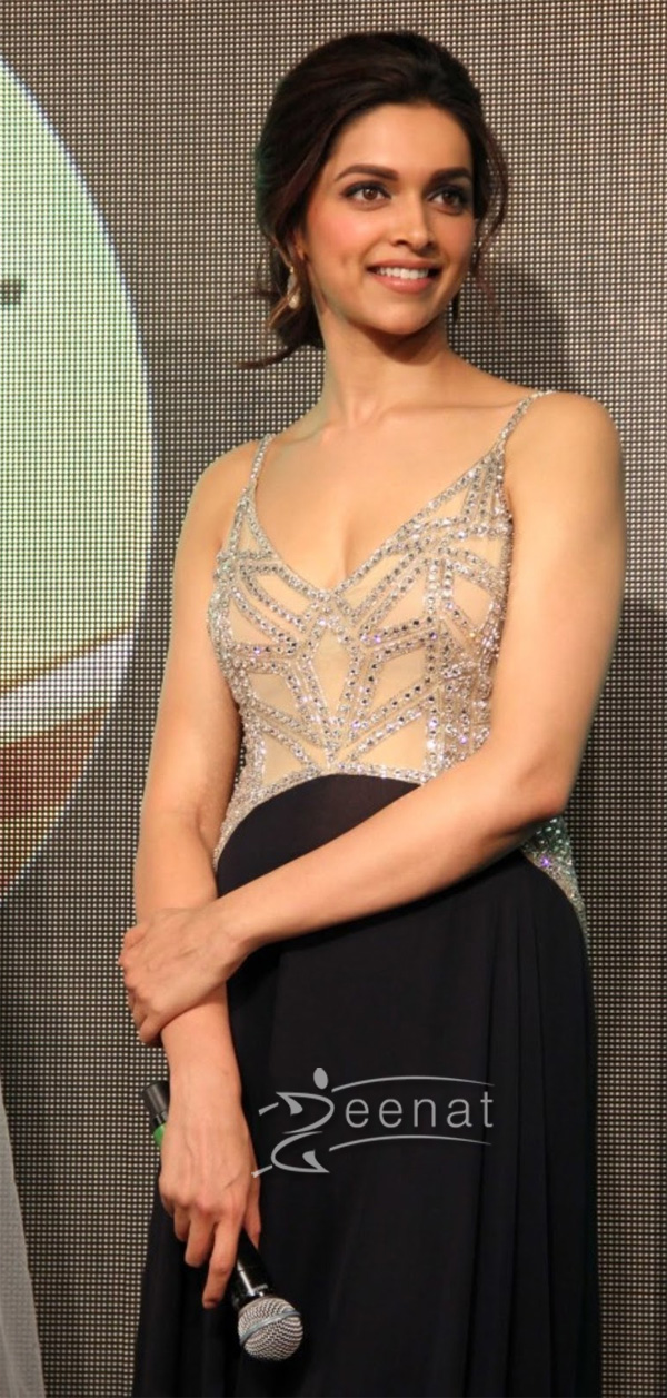 Deepika Padukone In Bollywood Frock