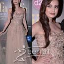 Dia Mirza in Designer Anarkali Frocks