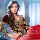 Diya Mirza In Anarkali Churidar 2F