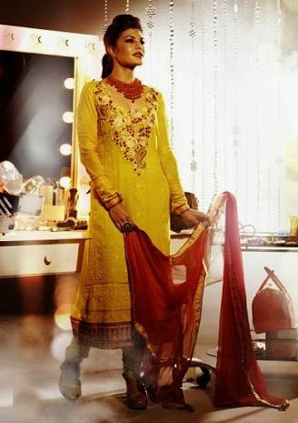 Jacqueline Fernandez In Designer Salwar Kameez 2E