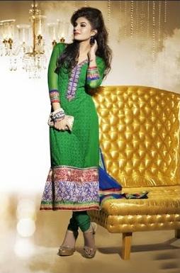 Jacqueline Fernandez In Designer Salwar Kameez 2C