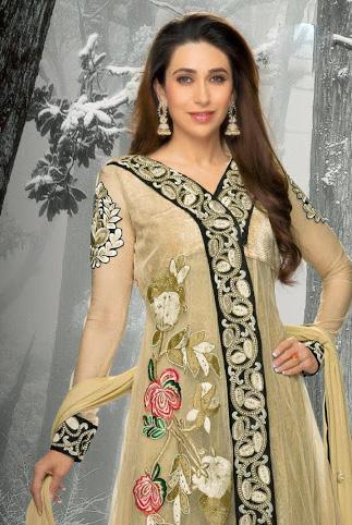 Kamishma Kapoor In Anarkali Suits 1B